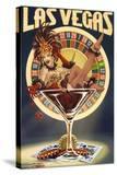 Las Vegas  Nevada - Casino Pinup Girl