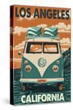 Los Angeles  California - VW Van