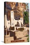 Mesa Verde National Park  Colorado - Cliff Palace