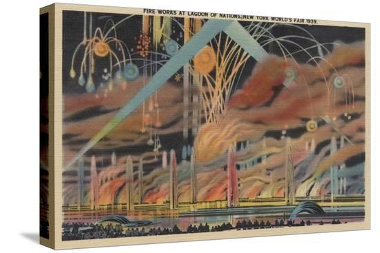 lantern-press-nyc-ny-fireworks-at-lagoon-of-nations-worlds-fair