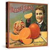Orange Prince Brand - Highgrove  California - Citrus Crate Label