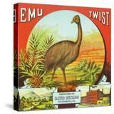 Petersburg  Virginia  Emu Twist Brand Tobacco Label