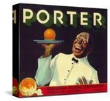 Porter Orange Label - Porterville  CA