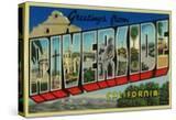 Riverside  California - Large Letter Scenes