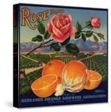 Rose Brand - Redlands  California - Citrus Crate Label