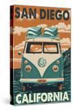 San Diego  California - VW Van