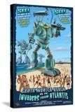 Santa Monica  California - Atlantean Invaders