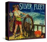 Silver Fleet Orange Label - Mentone  CA
