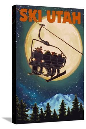 lantern-press-ski-utah-ski-lift-and-full-moon