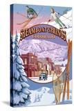 Steamboat Springs  Colorado Montage
