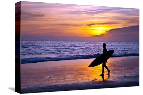 lantern-press-surfer-and-sunset