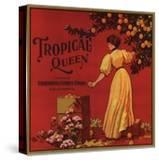 Tropical Queen Brand - California - Citrus Crate Label