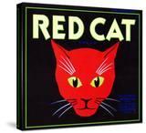 Villa Park  California  Red Cat Brand Citrus Label