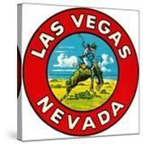 Las Vegas Logo with Bucking Bronco  Nevada