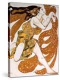 Bacchante  Costume Design for a Ballets Russes Production of Tcherepnin's Narcisse  1911
