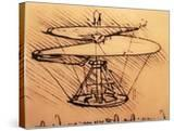 Design for Spiral Screw Enabling Vertical Flight