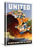 United - the United Nations Fight for Freedom Poster