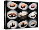 Set Of 9 Different Nigirizushi (Sushi)