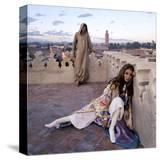 Vogue - January 1970 - Talitha and Paul Getty  Jr in Morocco