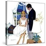 "Cinderella Dress  - Saturday Evening Post ""Leading Ladies""  September 17  1960 pg22"