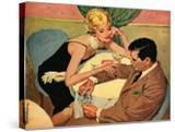 """His Highness and the Thrush  - Saturday Evening Post """"Leading Ladies""""  September 3  1960 pg22"""