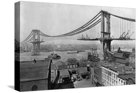 manhattan-bridge-under-construction