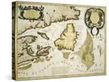 Map of Eastern Canada and Newfoundland  1692