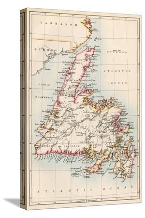 map-of-newfoundland-canada-1870s