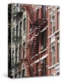 Fire Escapes  Chinatown  Manhattan  New York  United States of America  North America