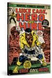 Marvel Comics Retro: Luke Cage  Hero for Hire Comic Book Cover No15  in Chains (aged)
