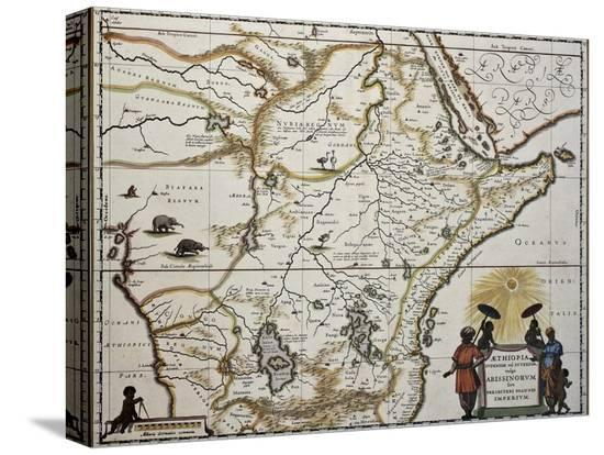 marzolino-ethiopia-old-map-created-by-joan-blaeu-published-in-amsterdam-1650