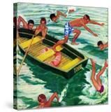 """Rowboat Diving""  July 12  1952"
