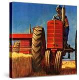 """Wheat Harvest""  August 12  1950"