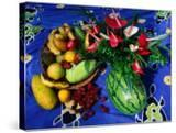 Flowers and Fruits on a Cloth  Castle Comfort  Dominica