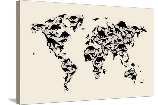 michael-tompsett-dinosaur-map-of-the-world-map