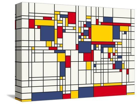 michael-tompsett-mondrian-abstract-world-map