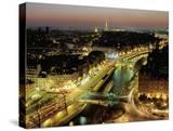 Overlooking Paris at Night