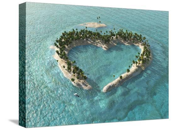mike-kiev-aerial-view-of-heart-shaped-tropical-island