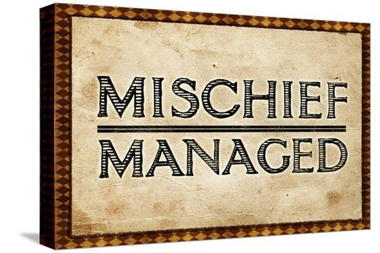 mischief-managed