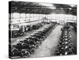 Model T Ford Factory in Trafford Park  Manchester  1914
