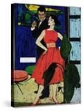 """Marriage Bait  - Saturday Evening Post """"Men at the Top""""  August 17  1957 pg26"""
