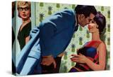 """The Nesting Instinct - Saturday Evening Post """"Men at the Top""""  March 21  1959 pg30"""