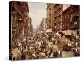 Mulberry Street  Manhattan  C1900