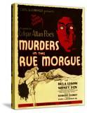 Murders in the Rue Morgue  Bela Lugosi on Window Card  1932
