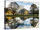 Buttermere Reflections  Cumbria  UK
