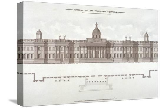 national-gallery-trafalgar-square-westminster-london-c1838