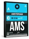 AMS Amsterdam Luggage Tag 1