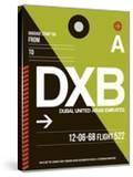 DXB Dubai Luggage Tag II