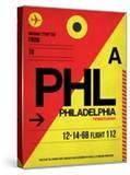 PHL Philadelphia Luggage Tag 2