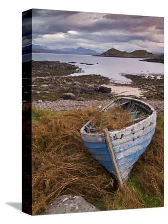 neale-clarke-sunset-old-blue-fishing-boat-inverasdale-loch-ewe-wester-ross-north-west-scotland